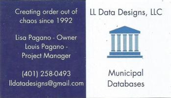 LL Data Designs, LLC - Municipal Databases